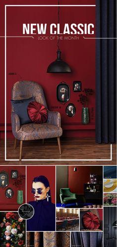 #lookofthemonth #LOM #interiordecoration #interieurinrichting #gordijnstoffen #gordijnen #curtains #dekostoff #mobelstof #upholstery #fabrics #woninginrichting #colors #colorinspiration #inspiration #styling #tissu #raamdecoratie #windowdressing #softfurnishing #furnishing #interiors #decor #decoratie #moodboard #classic #klassiek #new