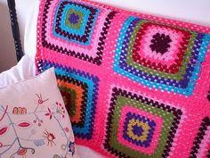 FIFIA CROCHETA blog de crochê : crochê : manta hexágono,pega de panelas...