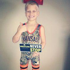Kansas Wrestling Singlet