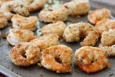 Breaded Shrimp | 1000 Shrimp Recipes, Fish Recipes, Bread Recipes, Cooking Recipes, Healthy Recipes, Ww Recipes, Healthy Eats, Breaded Shrimp, Grilled Shrimp