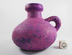 Otto Keramik 70s West German - Modernist - Pop Art - Space Age - Fat Lava Vase. in Pottery, Porcelain & Glass, Pottery, Art Pottery | eBay