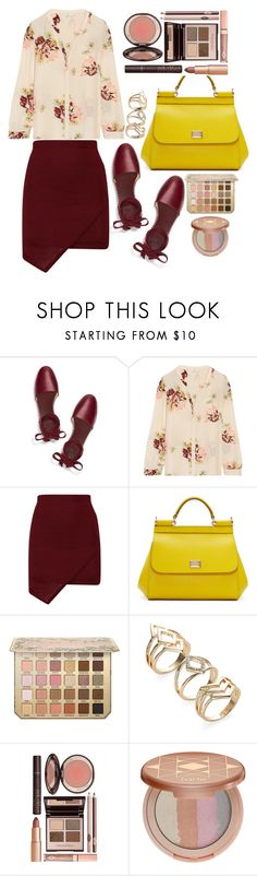 """""""street style"""" by ecem1 ❤ liked on Polyvore featuring Tory Burch, Joie, Dolce&Gabbana, Charlotte Tilbury and tarte"""