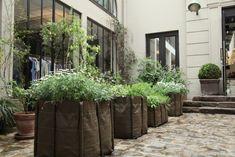 Merci Shop in Paris, France, Remodelista  330L Bacsac Planters