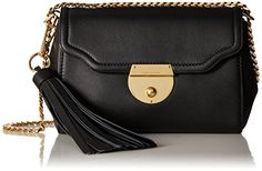 Marc Jacobs Basic Shoulder Bag Black ** Find out more about the great product at the image link.Note:It is affiliate link to Amazon.
