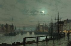 Whitby by John Atkinson Grimshaw 1883