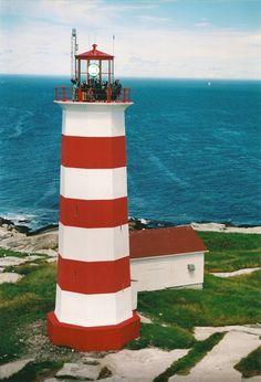 Lighthouse in Halifax ,Nova Scotia,Canada