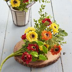 """RAZ Mixed Wildflower Bundle  Made of Plastic and Paper Measures 24"""" Multi  By the Lake Collection"""