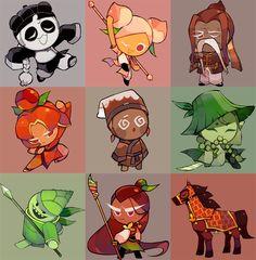 cookie run oc Cookie Run, Cookie Time, Kawaii Chibi, Kawaii Art, Game Character Design, Character Design Inspiration, Cotton Candy Cookies, Dessert Illustration, Cute Cookies