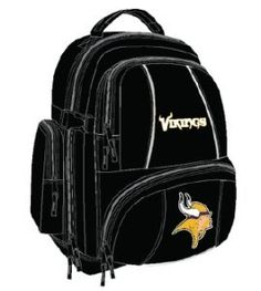 Minnesota Vikings Trooper Back Pack by Concept 1. $39.99. The Trooper is a great spacious backpack that allows you to bring along all your necessities and show off your team loyalty at the game or around town.. Save 20% Off!