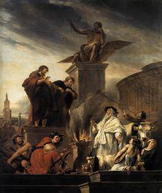 Berchem, Nicolaes Pietersz. - Paul and Barnabas at Lystra - 1650