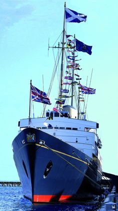 The Royal Yacht Britannia, Leith #Edinburgh. http://www.royalyachtbritannia.co.uk/ #Scotland