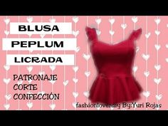 YouTube Sewing Blouses, Blouse Patterns, Designer Dresses, Diy And Crafts, Ballet Skirt, Makeup Sets, Crochet, Academia, Youtube