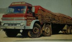 N.H.Huggins & Son, Whaplode, Spalding, Lincs. Rare D Series Ford 8 legger.