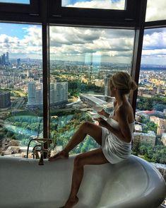 Доброе утро, моя любимая Москва!❤️ #доммилыйдом #вгостяххорошоадомалучше