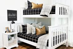 Styled for Boys – Beddy's Bunk Bed King, Bunk Beds, Kid Beds, Small Room Decor, Small Rooms, Make Your Bed, How To Make Bed, Beddys Bedding, Euro Pillow Covers