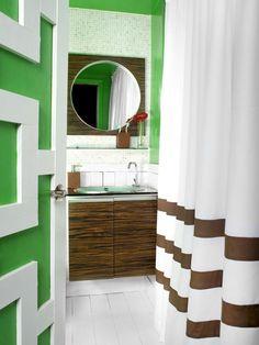 15 Simply Chic Bathroom Tile Design Ideas : Rooms : Home & Garden Television