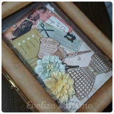 Caixa de costura   Meninas de Papel