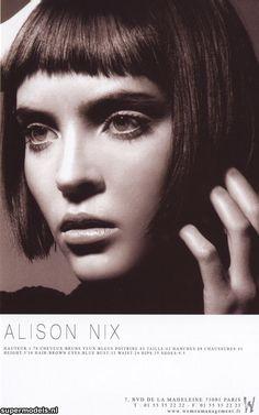 Alison Nix - OMG those bangs!