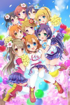 Love Live! Kotori and Honoka