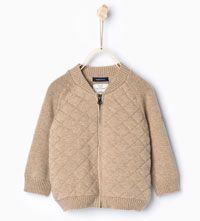 Knit cardigan-Sweaters & Cardigans-Baby boy-Baby | 3 months - 3 years-KIDS | ZARA United States