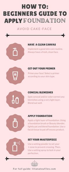 How to beginners guide to apply foundation - Makeup Tutorial Foundation Makeup Tutorial Foundation, Foundation Tips, How To Apply Foundation, No Foundation Makeup, Foundation Application, Flawless Foundation, Makeup Application, Make Up Tutorials, How To Wear Makeup