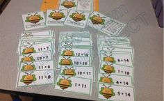 Addition Number Sentence Sorts: Within 20 and Beyond Teaching Tools, Teaching Math, Teaching Resources, Year 1 Maths, Math Numbers, Activity Centers, Math Activities, Sorting, Mathematics