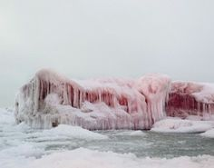 So, what do they say about the PINK ice?