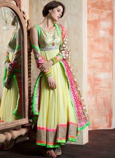 Enchanting Georgette Anarkali Suit