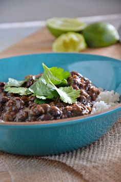 A quick Cuban style pot of black beans. Ready in 20 minutes, these are great over rice, cornbread or stuffed into a tortilla with some scram...
