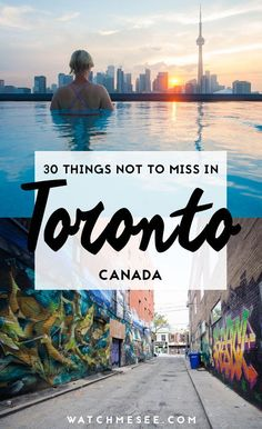 Here are all the coolest and best things to do in Toronto, Canada! canada 30 Cool Things to do in Toronto, Canda Toronto Canada, Pvt Canada, Toronto Winter, Canada Ontario, Cool Places To Visit, Places To Travel, Travel Destinations, Places To Go, Quebec