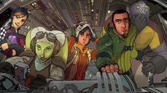 Star Wars Rebels - Ghost crew