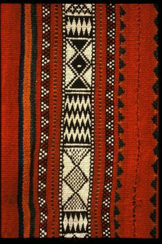 ~ Living a Beautiful Life ~ Ethnic Fair Isle - Bedouin Weaving of Saudi Arabia
