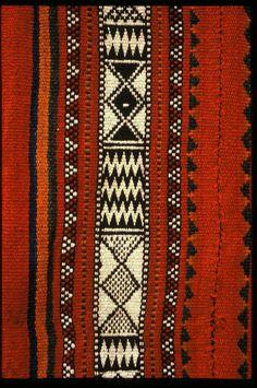 ~ Living a Beautiful Life ~ Ethnic Fair Isle - Bedouin Weaving of Saudi Arabia