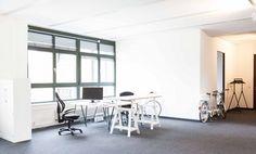 Arbeiten in coolem Loftbüro in Friedrichshain #Büro #Bürogemeinschaft #Office #Coworking #Berlin