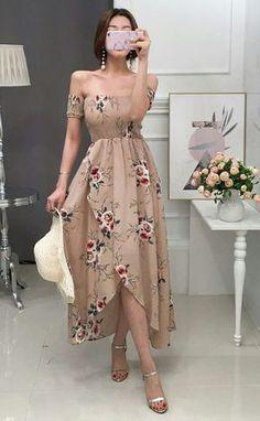 Fashion Outfits Vestidos Ideas For 2019 Trendy Dresses, Elegant Dresses, Cute Dresses, Beautiful Dresses, Casual Dresses, Summer Dresses, Prom Dresses, Evening Dresses, Mode Outfits