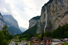 The Valley of Lauterbrunnen, more info on simply-wright.com