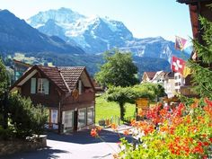 Country villages | Switzerland The Most Beautiful Country In The World: Wengen ...