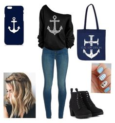 """""""Cotlon Dixon inspired outfit (Anchor)"""" by short-376 ❤ liked on Polyvore"""
