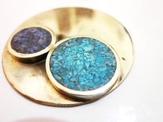 reconstituido en alpaca Silver Brooch, Metal Jewelry, Druzy Ring, Daily Fashion, Jewerly, Diy And Crafts, Jewelry Making, Pendants, Gemstones