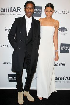 chanel iman and asap rocky engaged - Google Search