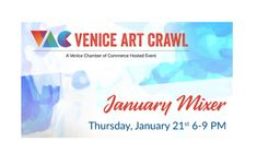 Venice Art Crawl Mixer on Thursday