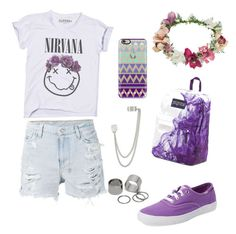 Sin título #9 by danielaozuna on Polyvore featuring polyvore, fashion, style, Ksubi, Keds, JanSport, French Connection, Pieces, Topshop and Casetify