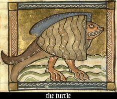 bestiario medieval -