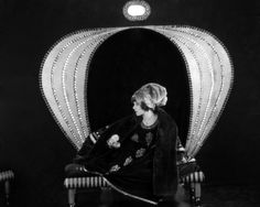 """Alla Nazimova in a photo from the 1921 film """"Camille"""", directed by Ray C. Natacha Rambova's exotic set and costume designs in the film blended elements of Art Deco and Art Nouveau / src:. Vintage Hollywood, Classic Hollywood, In Hollywood, Vintage Glam, Vintage Ladies, Hollywood Glamour, Hollywood Actresses, Vintage Style, Natacha Rambova"""