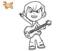 Descargables para niños de los pintas de los dibujos Pumpkin Reports, descargar imagenes para colorear infantiles, imprimibles. Actividades infantiles