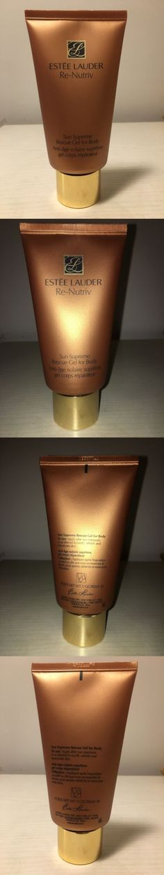 Other Skin Care: New Estee Lauder Re-Nutriv Sun Supreme Rescue Gel For Body After Sum 150 Mg -> BUY IT NOW ONLY: $55 on eBay!