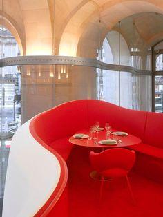 The Phantom Of The Opera Phantom – Restaurant of the Garnier Opera*Paris. Odile Decq, Types Of Red, Restaurant Design, Restaurant Restaurant, Paris Restaurants, Rubber Flooring, Luxury Furniture, Luxury Homes, Interior Decorating
