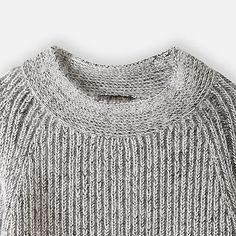 Le Mont St Michel Ribbed Sweater   Steven Alan. Love the unusual neck band
