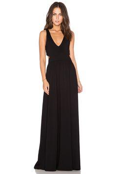 274b64ecbec20 Bobi Supreme Jersey Cut Out #maxidress in Black | REVOLVE $96 White Maxi  Dresses,