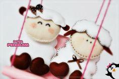 Ovelhinhas para decoração ou lembrancinha